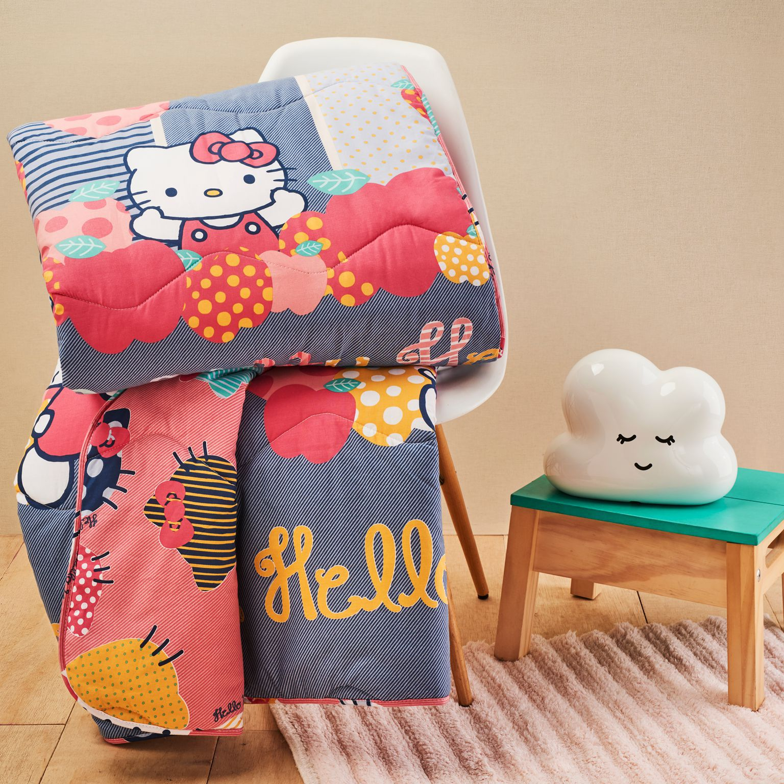 Edredom Hello Kitty Matelado