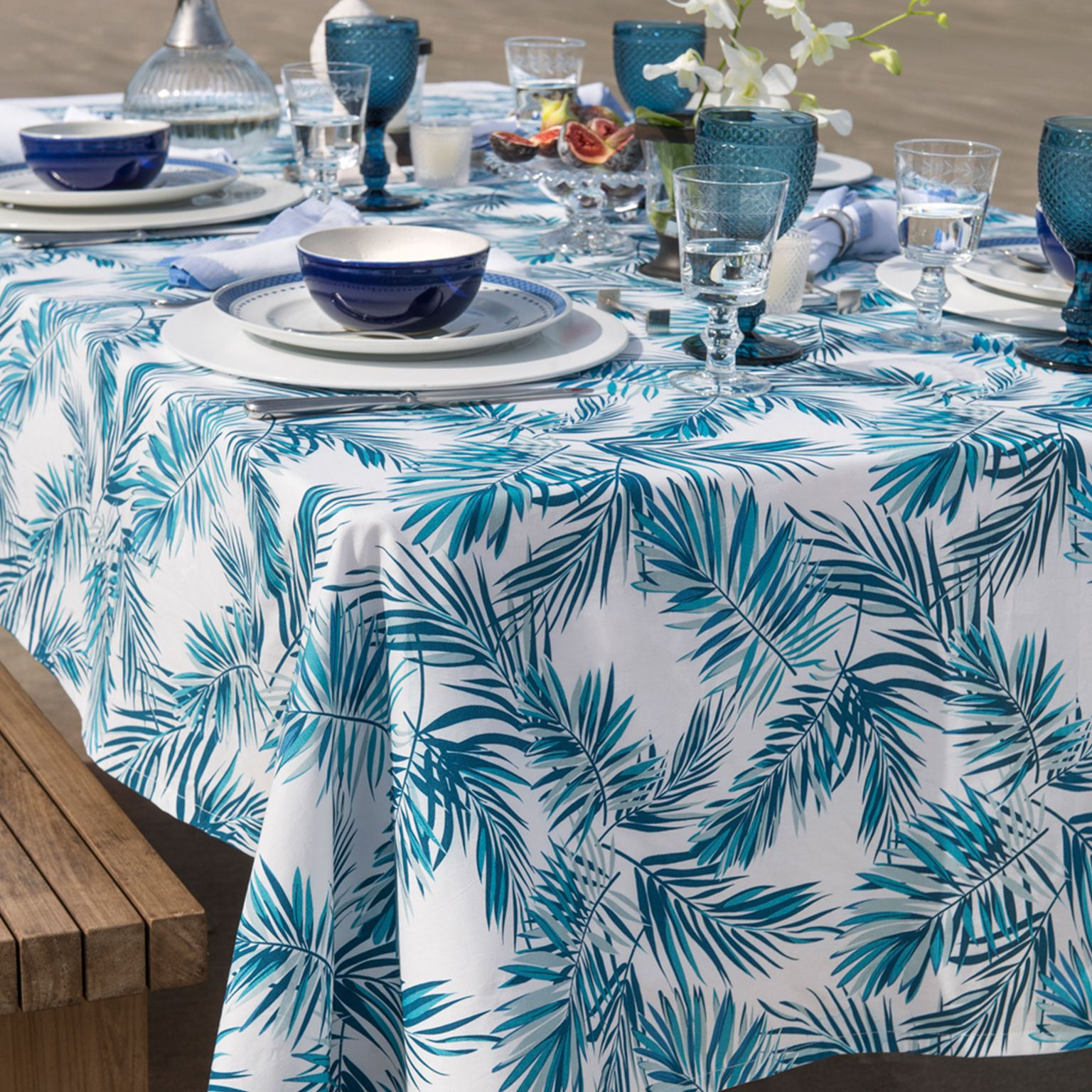 Toalha de Mesa Home Design Tropical