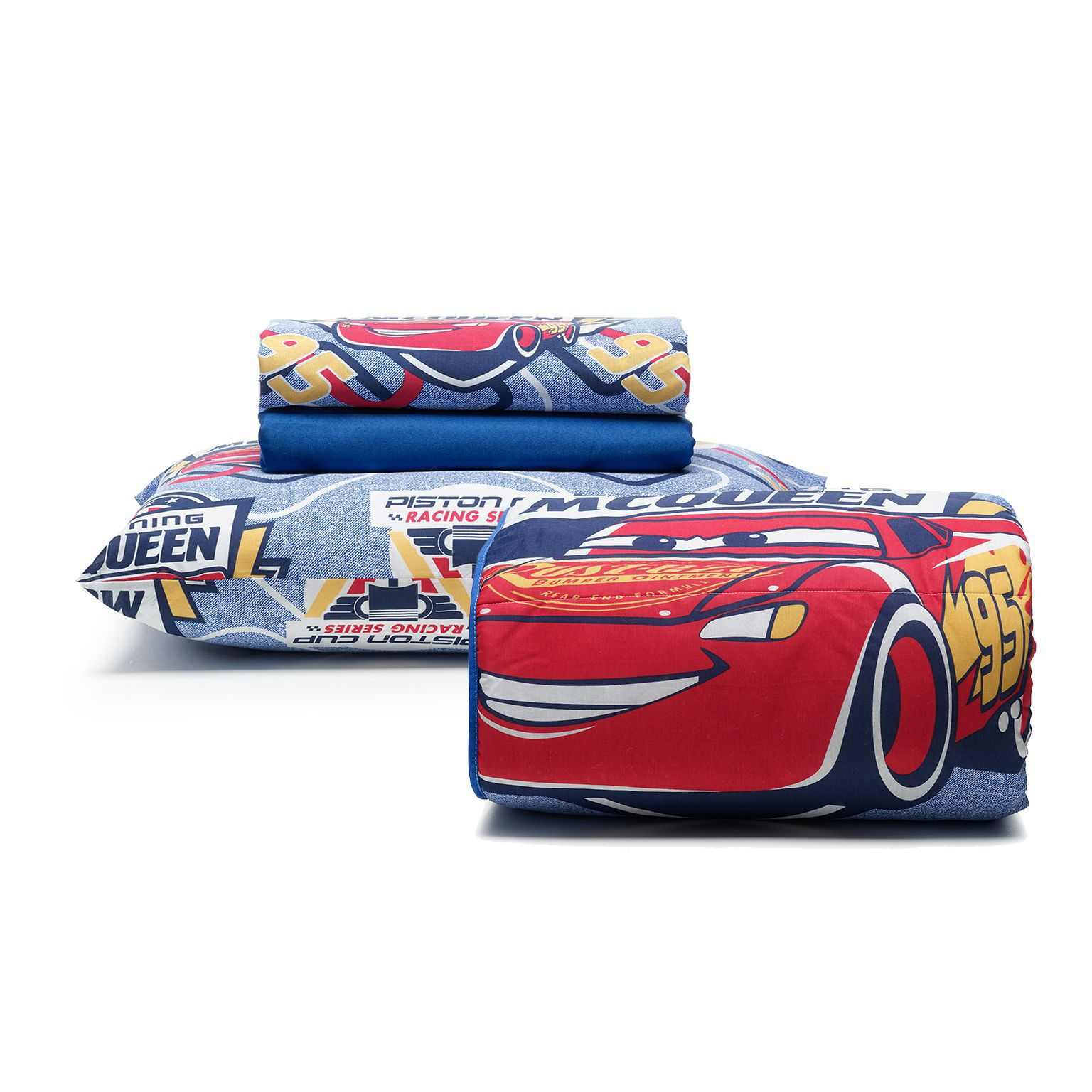 Kit Cama Infantil Disney Cars Cup