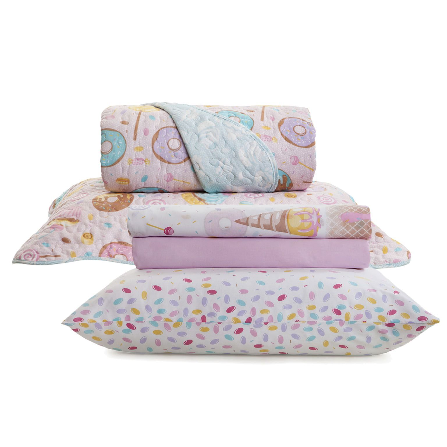 Kit Cama Infantil Royal Candy