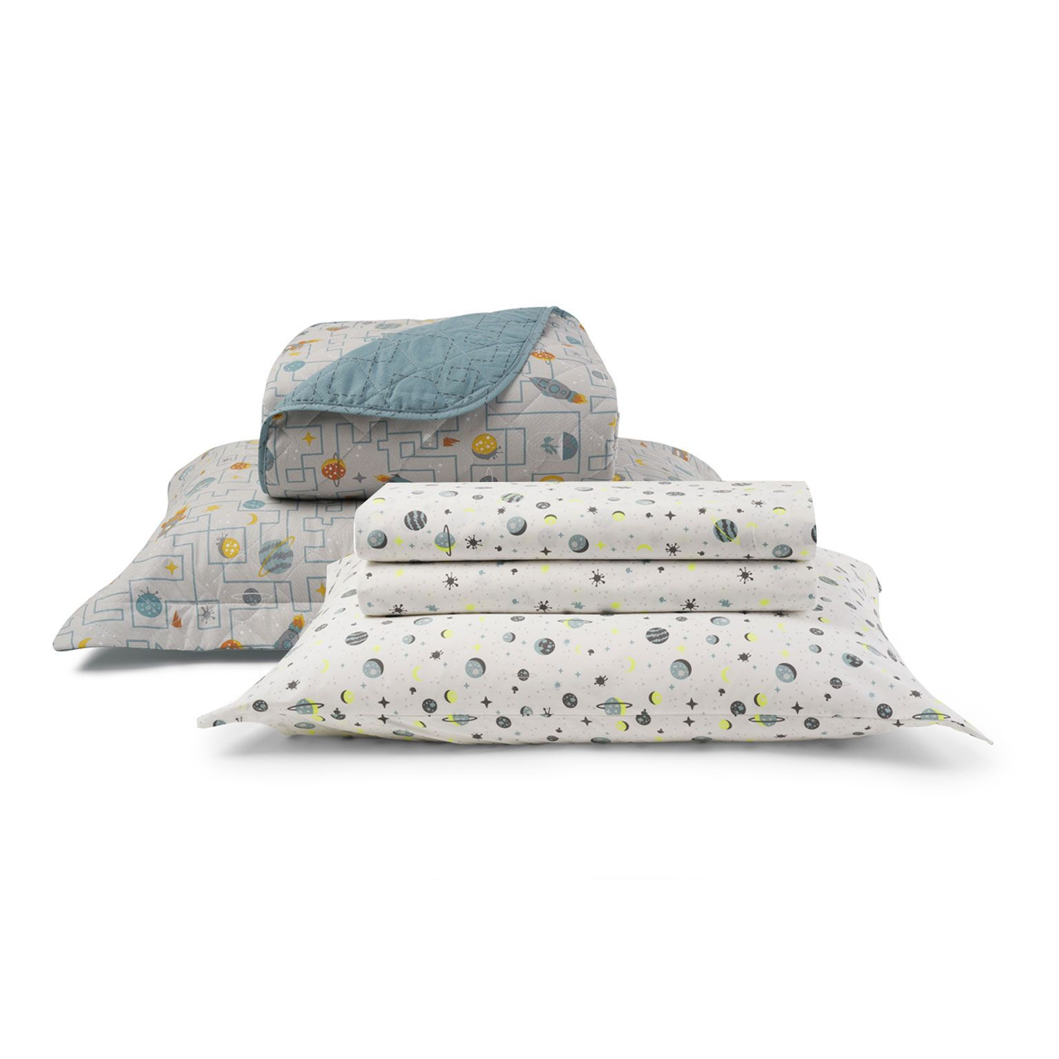 Kit Cama Matelassê Total Mix Jr Lucas