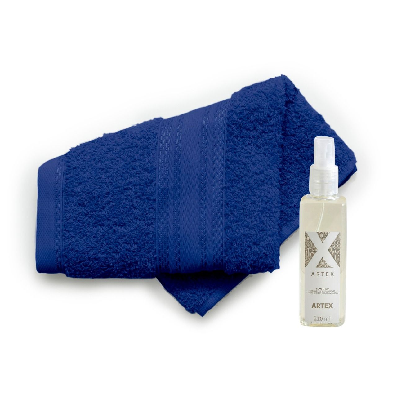 Kit Aromatizador de Ambientes Artex + Toalha Long Loop Color Way