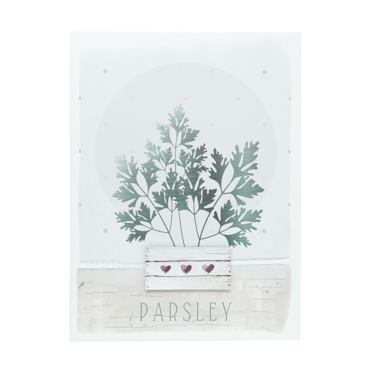 Tela Decorativa Core Parsley