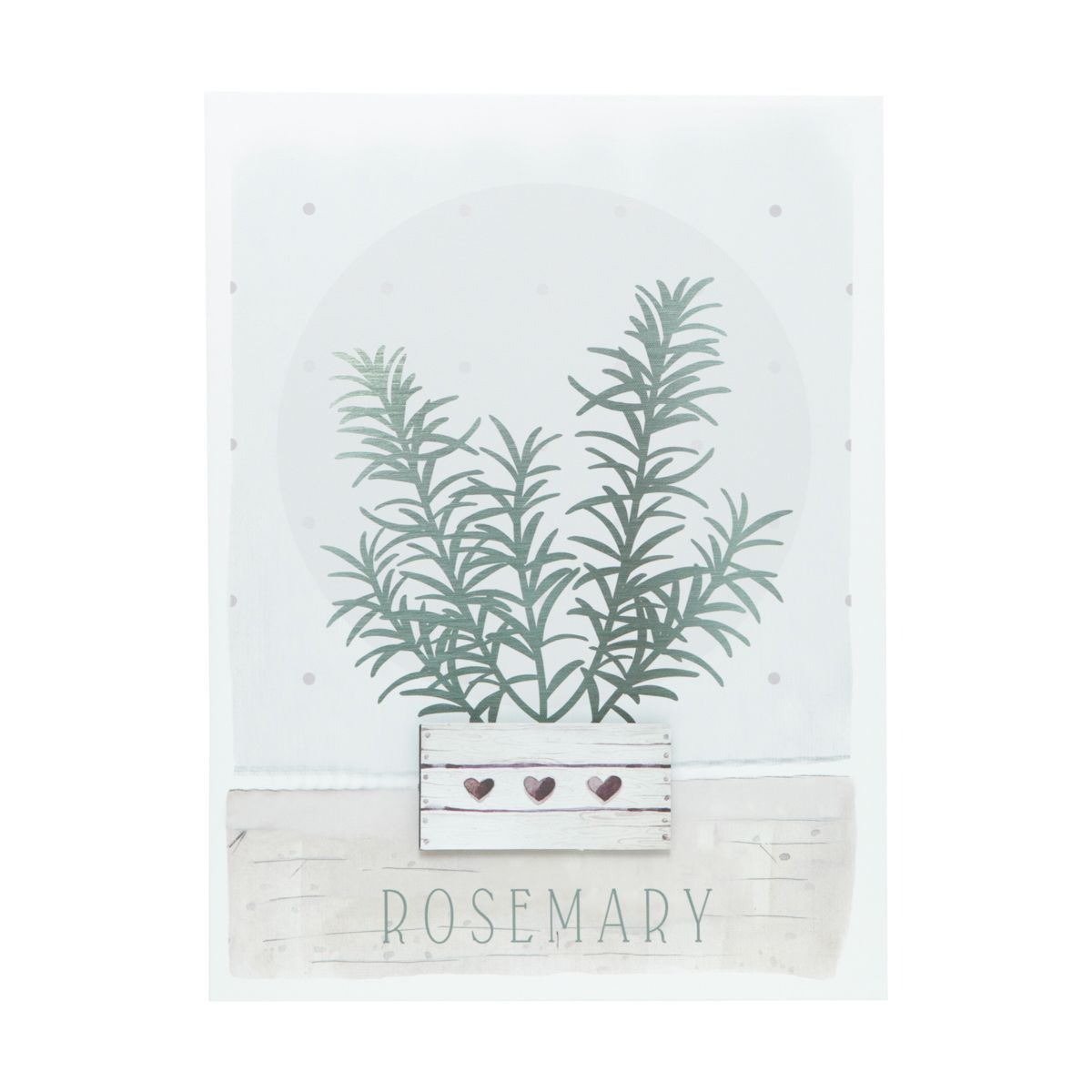 Tela Decorativa Core Rosemary