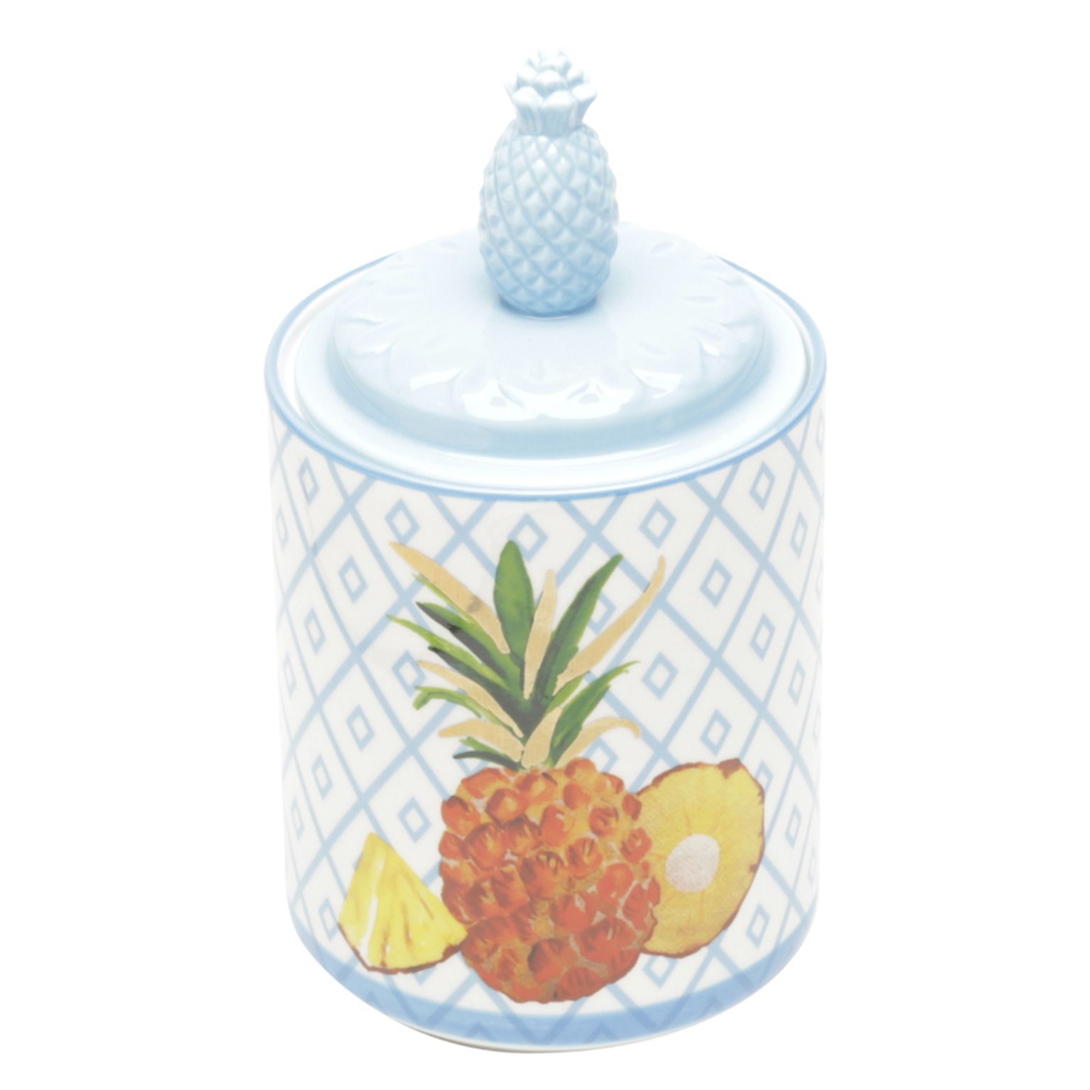 Potiche em Porcelana Pineapple Colors