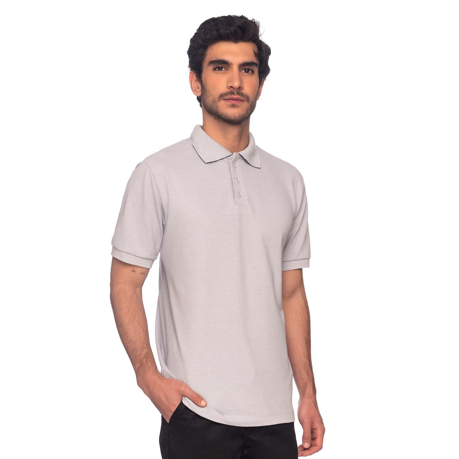 Kit Camisas de Uniforme Masculino Polo Master Collection 3 Peças