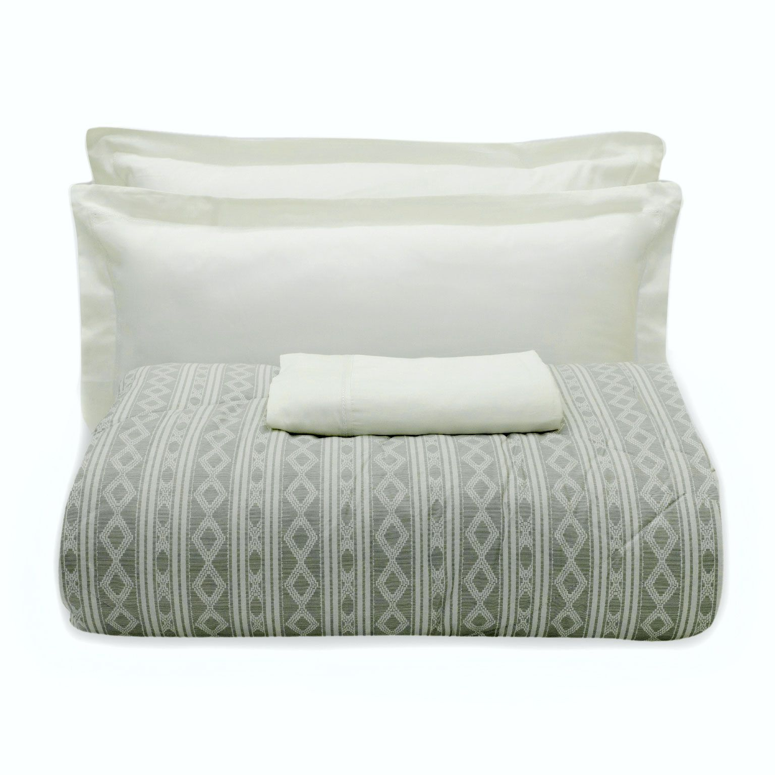 Kit Cama Dusty Neutral Easy Mix 5 Peças