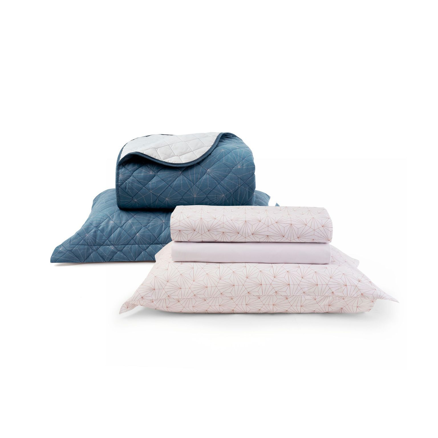 Kit Cama Matelassê Total Mix Astral Simples