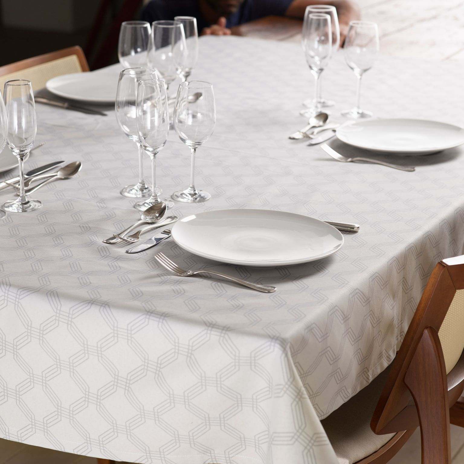 Toalha de Mesa Dusty Neutral